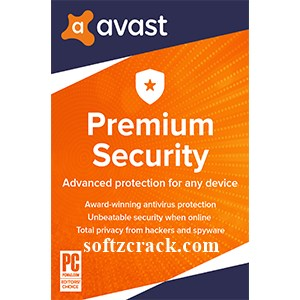 Avast Premium Security 2020 Crack With License Key {Till 2050}
